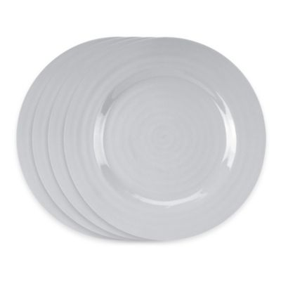 Sophie Conran for Portmeirion® Dinner Plates in Grey (Set of 4)