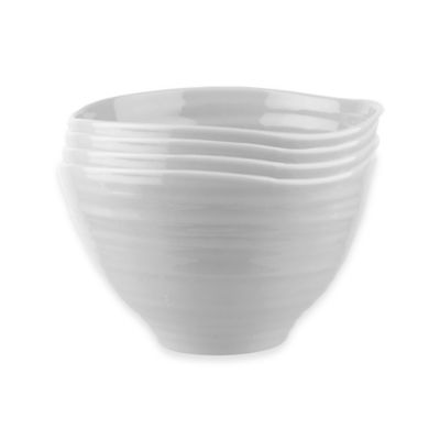 Sophie Conran for Portmeirion® Small Footed Bowls in Grey (Set of 4)