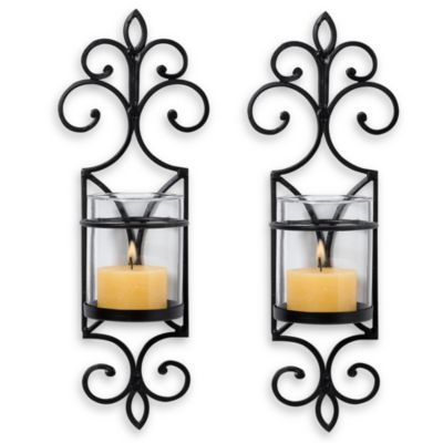 San Miguel Candle Sconces