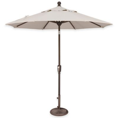 SimplyShade® Catalina 7.5-Foot Octagon Aluminum Market Umbrella in Sunbrella® Cocoa