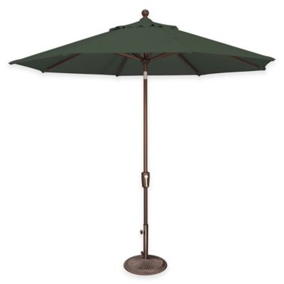 SimplyShade® Catalina 9-Foot Octagon Tilt Market Umbrella in Sunbrella® Forest Green