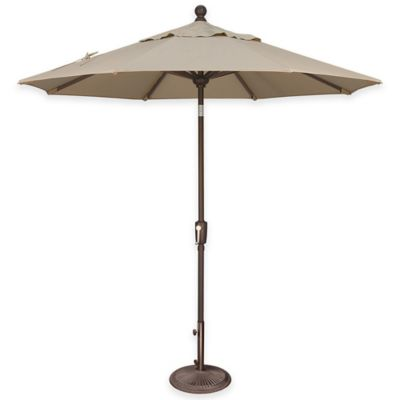 SimplyShade® Catalina 7.5-Foot Octagon Aluminum Push Button Tilt Market Umbrella in Forest Green