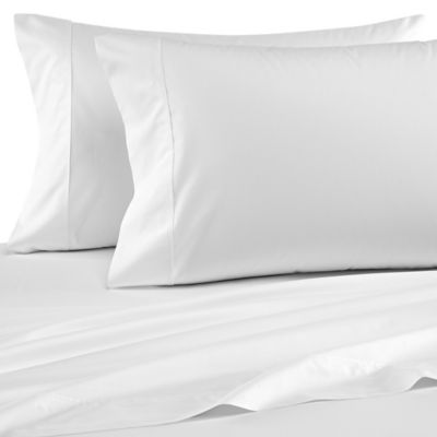 Wamsutta® Dream Zone® Percale 500-Thread-Count King Pillowcases in White (Set of 2)