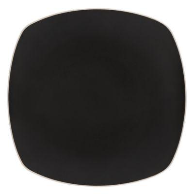 Artisanal Kitchen Supply™ Edge Square Serving Platter in Graphite