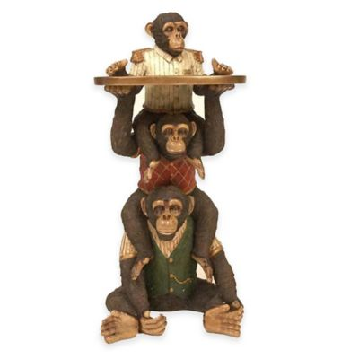 Bombay Stacking Monkey Service Table