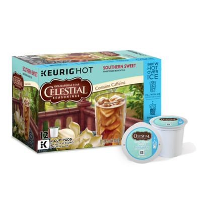Keurig® K-Cup® Pack 12-Count Celestial Seasonings® Southern Sweet Perfect Iced Tea