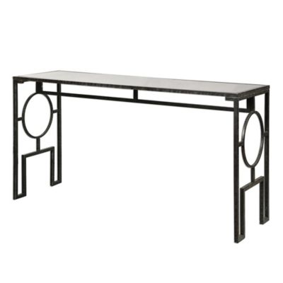 Uttermost Jabrell Mirrored Sofa Table