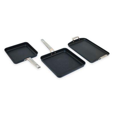 Valira® Aire Lean Living 3-Piece Sloped Pans Set