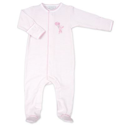 Magnolia Baby™ Newborn Bunnies and Balloons Footie in Pink