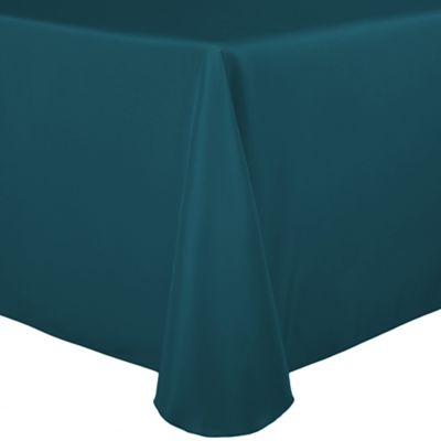 Teal Square Tablecloth