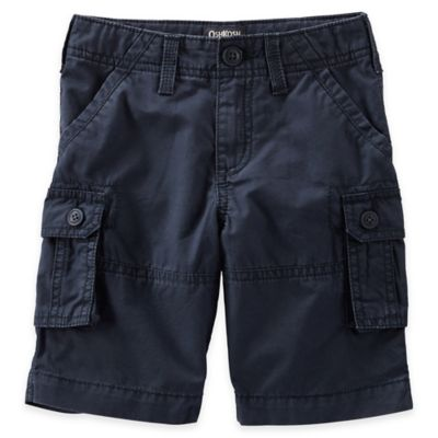 OshKosh B'gosh® Size 3M Twill Cargo Short in Navy