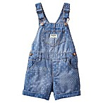 OshKosh B'Gosh Size 3M Patchwork Handkerchief Shortall in Denim