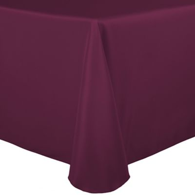 Basic Polyester 72-Inch sq. Tablecloth inMagenta