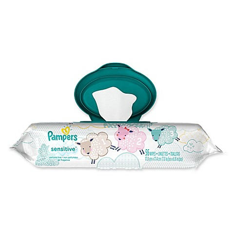 Pampers 174 54 Count Sensitive Wipes Buybuy Baby