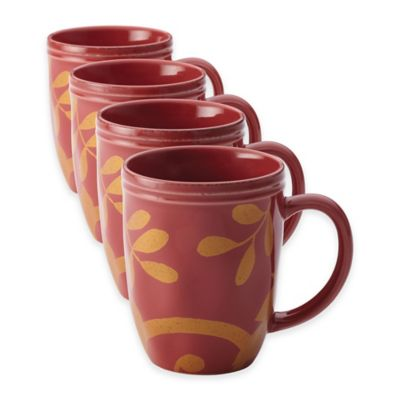 Rachael Ray Scroll Mugs