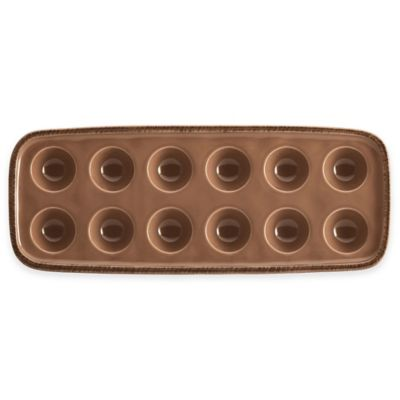 Rachel Ray Cucina 12-Inch Rectangular Platter in Brown