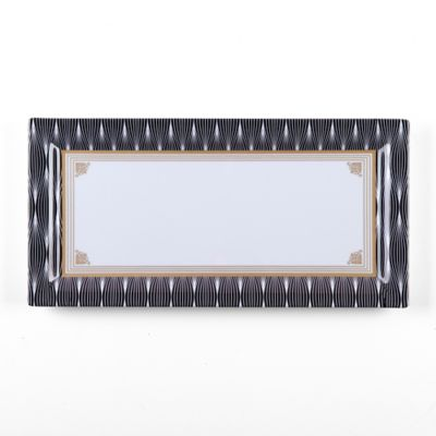 Black Gold Square Platter