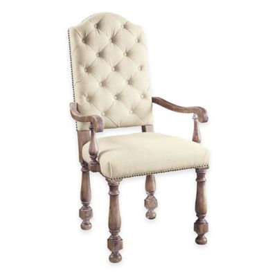 Pulaski Amethea Dione Arm Chairs in Cream (Set of 2)
