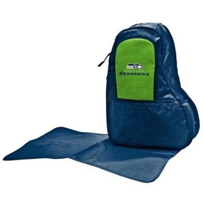 Lil Fan Seattle Seahawks Sling Diaper Bag