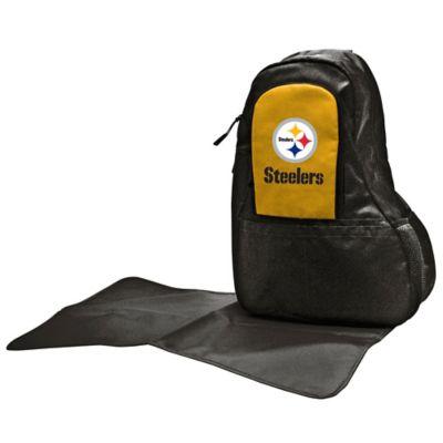 Lil Fan Pittsburgh Steelers Sling Diaper Bag
