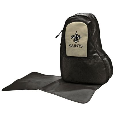 Lil Fan New Orleans Saints Sling Diaper Bag