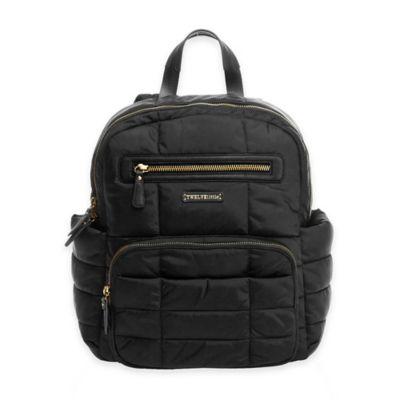 TWELVElittle Companion Backpack Diaper Bag in Black