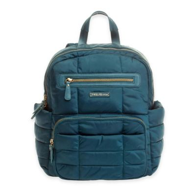 TWELVElittle Companion Backpack Diaper Bag in Teal