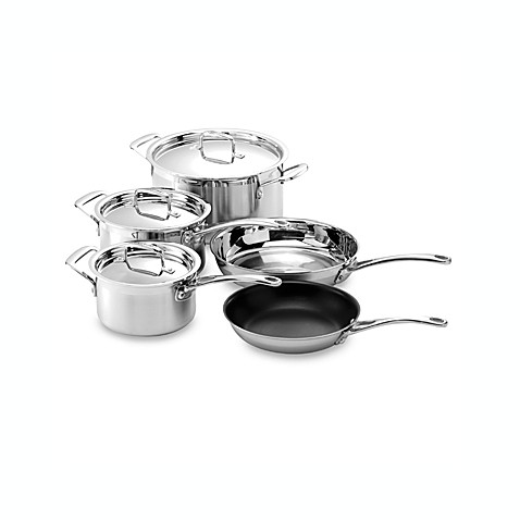 Le Creuset® Stainless Steel 8-Piece Cookware Set