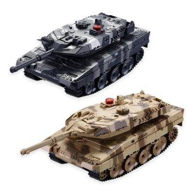 Remote Control Battling Tanks (Set of 2)