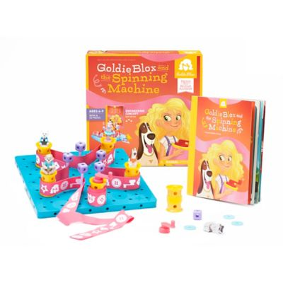 GoldieBlox and the Spinning Machine Toy