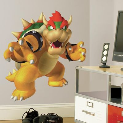 York Wallcoverings Nintendo® Bowser Peel and Stick Giant Wall Decal