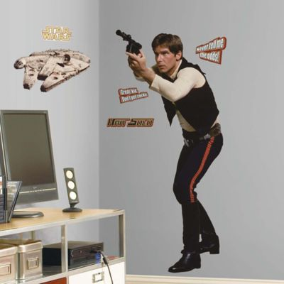 Star Wars™ Classic Han Solo Peel and Stick Giant Wall Decal