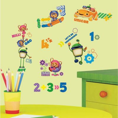 "York Wallcoverings ""Team Umizoomi"" Peel and Stick Wall Decals"