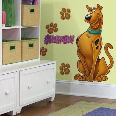 York Wallcoverings Scooby-Doo Peel and Stick Giant Wall Decals (Set of 9)