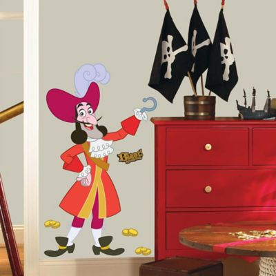 York Wallcoverings Disney® Jake and the Never Land Pirates Captain Hook Giant Wall Decals