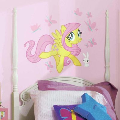 "York Wallcoverings ""My Little Pony"" Fluttershy Peel and Stick Giant Wall Decals (Set of 19)"