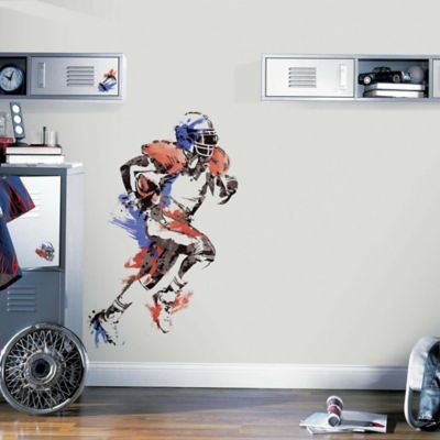 York Wallcoverings Men's Football Champion Peel and Stick Giant Wall Decals (Set of 9)