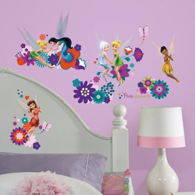 York Wallcoverings Best Fairy Friends Peel and Stick Wall Decals (Set of 18)
