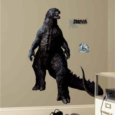 York Wallcoverings Godzilla Wall Graphix Peel & Stick Wall Decals (Set of 12)