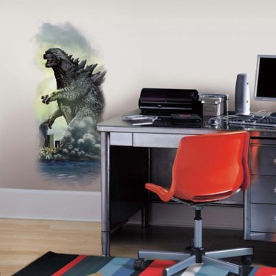 York Wallcoverings Godzilla City Wall Graphix Peel & Stick Wall Decal