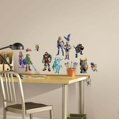 York Wallcoverings Zelda®: Ocarina of Time 23-Piece 3D Peel & Stick Wall Decals