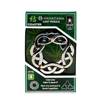 O'Gear Hanayama Level 4 Coaster Cast Puzzle
