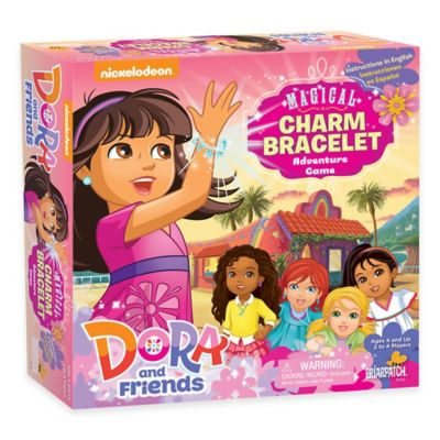 Dora and Friends Magical Charm Bracelet Adventure Board Game