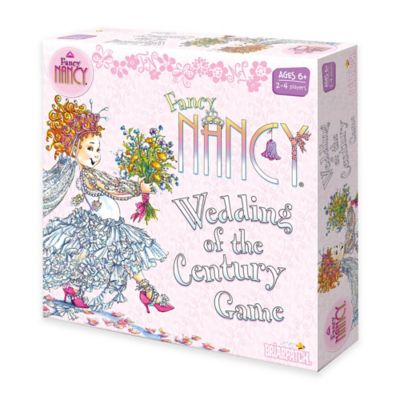 Fancy Nancy Wedding of the Century Board Game
