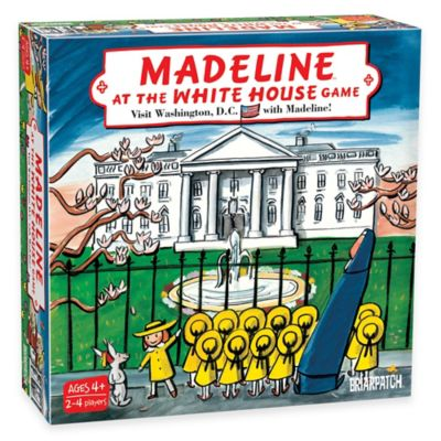 Madeline at the White House Board Game