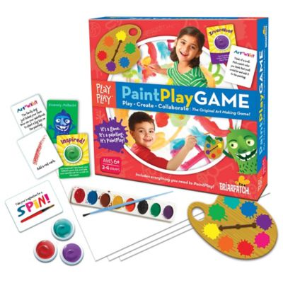 Paint Play Board Game