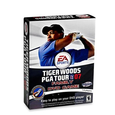 Tiger Woods PGA Tour DVD Game