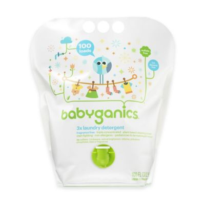 Babyganics® 100 oz. Fragrance-Free 3x Laundry Detergent