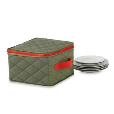 "Real Simple® Quilted Three-Layer 9"" Salad Plate Cover"