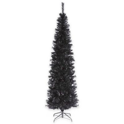 National Tree Tinsel 6-Foot Tree in Black